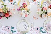 baby shower inspiration / Inspiration for the latest trendy themes, food ideas, favor DIYs and more to throw the best baby shower!