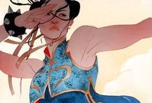 art: Kevin Wada / The comic art of Kevin Wada