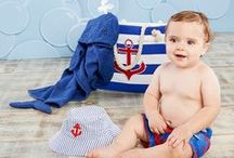 trend alert: sail, baby sail   nautical baby ideas / Sea-Inspired nautical nursery, nautical baby shower and birthday party inspiration!