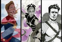 Geekery: Marvel Comics / All Marvel, no X-men (Xmen have a separate board).  / by A Estrella