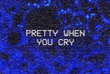 d a r k b l u e / dark blue aesthetic