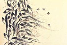 <>{ Calligraphy