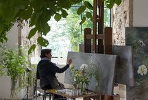 Painting/art studio