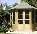 Summerhouses / Dreaming of writing a book or just a place to stop for a moment?  Liveoutside Summerhouses offer a perfect environment to escape from reality. Take a moment to take a seat and enjoy your beautiful garden.