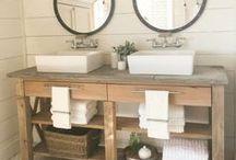 Bathroom Ideas / DIY and Home Design for the Bathroom