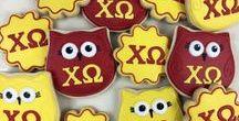 cake cookie candy sugar / Themed sweets for recruitment, sisterhood socials, greek girl parties and foodie fundraisers. WEBSITE: sororitysugarHQ.com • BLOG: sororitysugar.tumblr.com