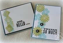Stampin Up Paper Crafts / Ink stamps or cardstock or Stampin Up products