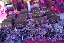 Purple and so Popular Wedding Love / Yes everyone loves purple this year. It has become a theme. My brides love purple so Enjoy.   www.nataliesoferweddingsandevents.com