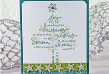 Christmas Cards and Crafts / A lot of Stampin Up Products are showcased, but sometimes a few others are here for ideas