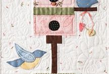 Bird and Birdhouse Quilts / Quilts that feature bird houses and/or birds