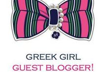"""""""my sorority story"""" guest bloggers / Be a part of the sorority sugar Greek Girl Guest Blogger Program! """"My Sorority Story"""" features inspiring, motivating and encouraging sorority stories shared by real life sorority members about their personal greek life experiences. Be sweet on greek and share your own positive story & 1 photo via the sorority sugar SUBMIT feature. / by sorority sugar"""