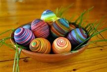 Easter Eggs / by Kat
