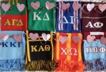 GREEK KNITS FAVES! / let sorority sugar be your personal sorority shopper! favorite picks from my PREMIER TIER 'ACCESSORY' SPONSOR ~ GREEK KNITS! http://www.greek-knits.com / by sorority sugar