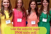 sorority sugar POLLS / Let your greek girl voice be heard. VOTE via your phone on a variety of different sorority subjects.  / by sorority sugar