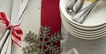 Christmas / Christmas table settings, DIY crafts, and other holiday inspiration | Christmas | Christmas Crafts | Christmas DIY | Christmas Decorations |