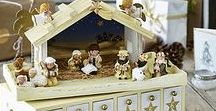 Wooden Nativity Advent Calendars / Not only do wooden nativity advent calendars look beautiful, they also evoke the true spirit of Christmas better than any other countdown calendar. Use them to tell your kids stories about each piece as it is revealed creating a fun atmosphere of togetherness while also teaching them the real meaning and origin of Christmas.