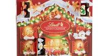Christmas Chocolate Advent Calendar / Christmas chocolate advent calendars are my favorite way to countdown the days until Christmas. I have to confess though: now that I'm an adult, I usually buy several and finish most of them off way before December 25th! Don't judge...