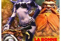 Blood Bowl 2 pubs / Les bandeaux pubs pour les compétitions de Blood Bowl 2 organisées par la Ligue française de Blood Bowl.