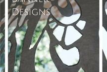 Banner Design / Templates and inspiration for church banners- paper lace, painting, and fabric.
