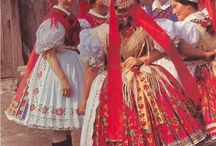 Hungarian folk costumes