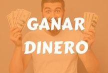 Ganar dinero / Cómo ganar dinero, dinero extra, ingresos extra, dinero por internet, fuentes de ingreso.