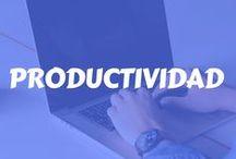Productividad / Todos queremos resultados y para tenerlos necesitamos ser productivos. Encuentra aquí, tips y estrategias para que aprendas como ser y productivo, aprovechar tu tiempo al máximo, priorizar tus actividades, completar tus tareas y obtener excelentes resultados.