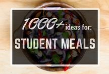 Student meals on a budget / Cheap, healthy and tasty food. Enjoy!