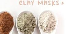 Face Masks / Face masks powders made with natural Australian clays.