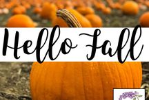Hello Fall / This board features all things fall!  From recipes to crafts to fun fall activities, you will see our favorite finds here!