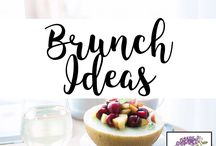 Brunch Ideas / We love the idea of hosting brunch!  These beautiful ideas are exactly what you need!  You can find the perfect outfit for brunch at lydiaandlilac.com