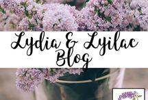 Lydia & Lilac Blog