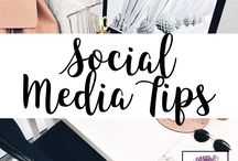 Social Media Tips / Tips for social media marketing.  Great for  Bloggers or Business Owners!  lydiaandlilac.com