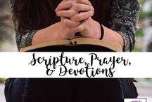 Scripture, Prayer, & Devotions