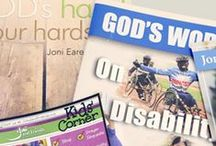 Disability Help and Resources / Great resources for Special Needs and Disability Ministry  (great for school classrooms, Sunday school, homeschooling, and churches)! / by Joni and Friends