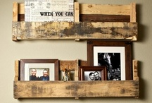 palettes / love for rustic re-purposing of palettes