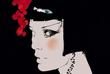 Fashion Illustrations / All art is autobiographical. The pearl is the oyster's autobiography.  Federico Fellini