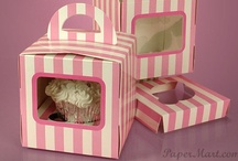 All Things with Cupcakes / Cupcake wrappers, cupcake boxes, cupcake inserts and more from Paper Mart's food packaging selection. We've even thrown in some crafts with cupcakes!