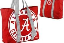 Alabama Crimson Tide Gear / Do you Roll with the Tide? If you answered yes then this is the board to follow. We savor the adrenaline of gameday with officially licensed Alabama Crimson Tide apparel and merchandise from the ultimate sports store! We pin trendy Alabama products, paraphernalia and other pins that inspire our Crimson Tide pride. Also, be sure to check out our Wish List Contest board for the chance to win free Bama gear! / by Fanatics ®