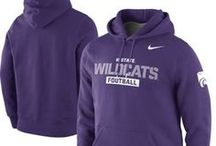 Kansas State Wildcats Gear / Savor the adrenaline of gameday with officially licensed Kansas State Wildcats apparel and merchandise from the ultimate sports store! Sport your enthusiasm for Kansas State University athletics with licensed Kansas State Wildcats jerseys, T-Shirts, hats and sweatshirts from Football Fanatics. Get your Kansas State clothing and gear from the Ultimate Sports Store and take advantage of our low $4.99 3-day shipping on your entire order! / by Fanatics ®