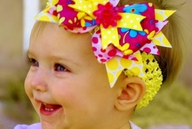 DIY - Hair Bows / Make a statement with these adorable hair bows.