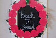Back to School Fun / Even though the kids are going back to school, you can still have some back to school fun with these crafts and DIY projects.