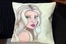 DIY Pillows / Canvas Corp - Canvas and Burlap Pillows