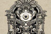 Zentangle love / Art that inspires me!