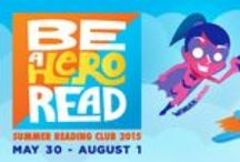 Summer Reading Club / Find information about summer reading loss and our Summer Reading Club.