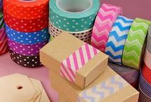 Washi Tape Ideas / Make Beautiful Crafts with Easy-to-Use Washi Tape!