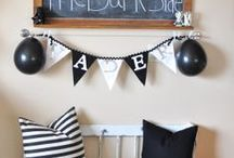 DIY Party Crafts / Paper craft ideas for party planning, invitations, decor, thank you cards and goodie bags
