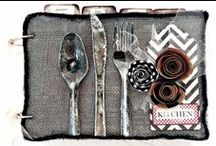 DIY Food and Gourmet Crafts / Food related paper craft and DIY gift ideas with Canvas Home Basics craft products