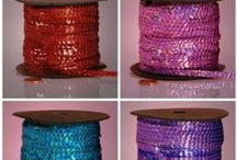 Sequin Sanctuary / We'll show you how to glitz things up with shiny, sparkly and sleek sequins.