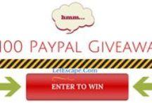 Contests and Giveaways / Contests and giveaways to enter