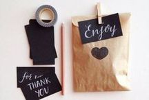Paper Bags / Canvas Corp has a variety of paper bags- from kraft to white and a few in between! Here's our collection of ideas on how to use our bags!